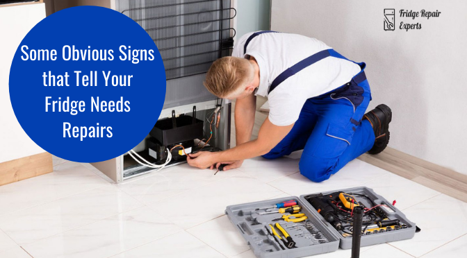 Some Obvious Signs that Tell Your Fridge Needs Repairs