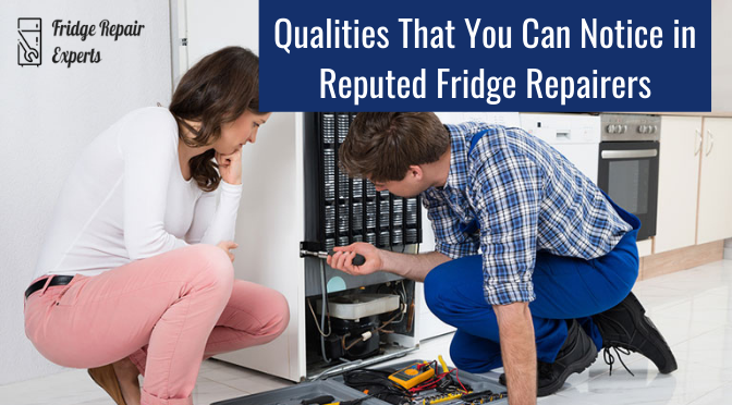 Qualities That You Can Notice in Reputed Fridge Repairers